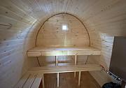 Баня-бочка 4 метра. Камни для печки в подарок Новоуральск