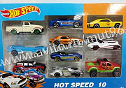 Набор из 10 машинок 7 см. Hot Wheels (Хот Вилс) Нижний Тагил