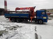Аренда манипулятора Камаз 10 тонн Нижний Тагил