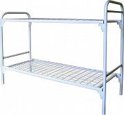 Металлические армейские кровати двухъярусные Серов