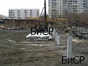 Свайные работы, забивка свай, погружение свай, сваебойные работы Екатеринбург
